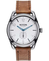 Nixon - C39 Leather - Lyst