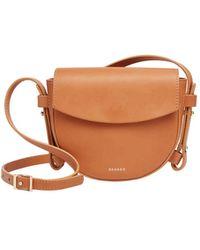 Skagen - Swh0213231 Lobelle Mini Saddle Bag - Lyst