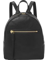 Fossil - Megan Backpack Black - Lyst