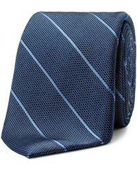 Calvin Klein - Pebble Pinstripe Tie - Lyst
