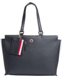 Tommy Hilfiger - Effortless Saffiano Tote - Lyst
