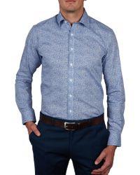 Geoffrey Beene - Dandelion Print Body Fit Shirt - Lyst