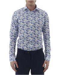Simon Carter - Pineapple Print Single Cuff Shirt - Lyst