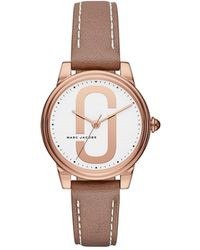 Marc By Marc Jacobs - Corie Brown Watch - Lyst