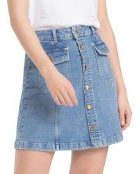 Tommy Hilfiger - Gaby High Waist Skirt - Lyst