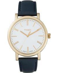 Timex - Weekender Blue Gld Maroon - Lyst