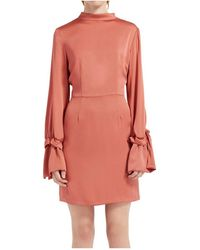 The Fifth Label - Cue The Beats Long Sleeve Dress - Lyst