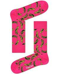 Happy Socks - Andy Warhol Banana Sock - Lyst