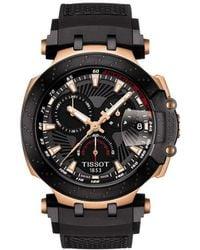 Tissot - T-race Quartz Chrono Watch - Lyst