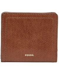 Fossil - Logan Rfid Bifold Wallet - Lyst