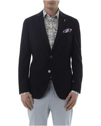 Simon Carter - Circle Dobby Half Lined Jacket - Lyst