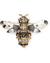 Calibre - Enamel Bee Badge - Lyst
