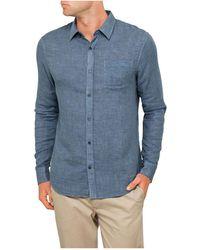 Vince - Dbl Face L/s Button Up Shirt - Lyst