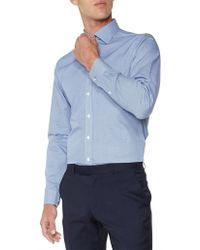 Ben Sherman - Ls Mod Circle Kings Fit Shirt - Lyst