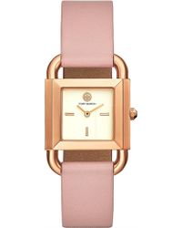 Tory Burch - The Phipps Pink Watch - Lyst