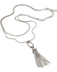 Lulu Frost | Lillet Long Layered Tassel Necklace | Lyst
