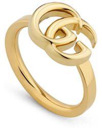 Gucci - GG Running Ring - Lyst