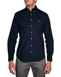 GANT - The Broadcloth Reg Bd Sport Shirt - Lyst