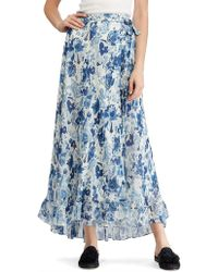 Polo Ralph Lauren - Long Skirt - Lyst