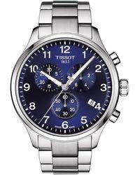Tissot - Chrono Xl Collection Chronograph Bracelet Watch - Lyst