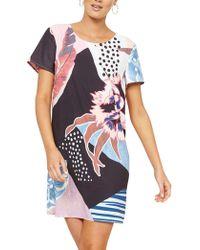 MINKPINK | Collage Tee Dress | Lyst