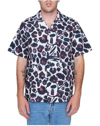Saturdays NYC - Canty Water Floral S/s Shirt - Lyst