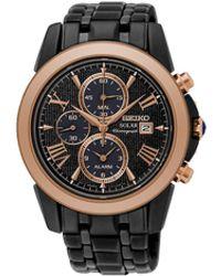Seiko - Men's Le Grand Sport Alarm Chronograph Watch - Lyst
