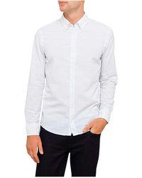 BOSS Orange - Horizontal Line Print Shirt - Lyst