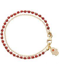 Astley Clarke   Agate Hamsa Small Biography Bracelet   Lyst