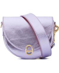 Deadly Ponies - Mr Mini Woolf - Metallic Leather Strap Belt Bag - Lyst fe08fd7cdd505