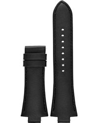 Michael Kors - Dylan Black Smooth Leather Strap - Lyst