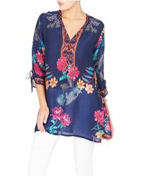 Johnny Was - Cavalan Blouse - Lyst