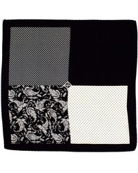 Hardy Amies - 4 Square Pocket Square - Lyst