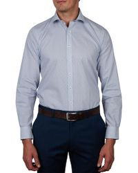 Geoffrey Beene - Anglers Print Slim Fit Shirt - Lyst