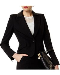 Karen Millen - Tailored Boxy Blazer - Lyst