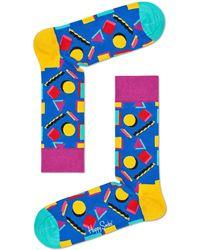 Happy Socks - Licorice Allsort Sock - Lyst