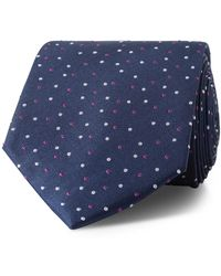 Calvin Klein - Navy With Mauve & Silver Spots - Lyst