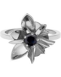 Meadowlark - Wildflower Ring - Midnight Saphhire - Lyst