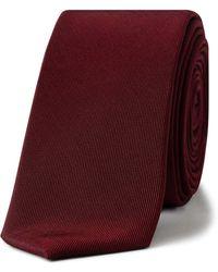 CALVIN KLEIN 205W39NYC - Skinny Liquid Luxe Tie - Lyst