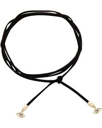 Rebecca Minkoff - Evil Eye Leather Wrap Choker/wrap Bracelet - Lyst