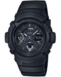 G-Shock - G Shock Duo Blk Out Series W/time, S/watch - Lyst