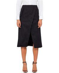 Josh Goot - Tailored Wrap Skirt - Lyst
