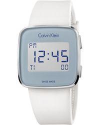 Calvin Klein - Future Digital Watch - Lyst