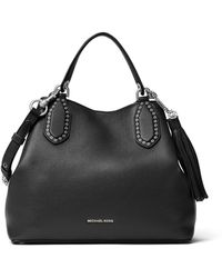 Michael Kors - Brooklyn Large Leather Tote - Lyst