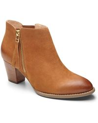 Vionic - Upright Sterling Ankle Boot - Lyst