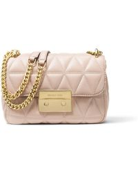 Michael Kors - Sloan Small Quilted-leather Shoulder Bag - Lyst
