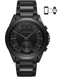 Armani Exchange - A/x Connected Bracelet Hybrid Smartwatch - Lyst