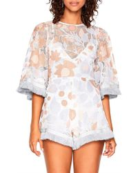 e2cdc22aac Alice McCALL - Cherries On Top Playsuit - Lyst