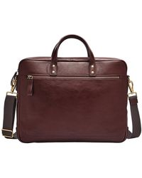 Fossil - Haskell Double Zip Workbag - Lyst