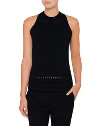 Ted Baker - Georji Ottoman Knitted Top - Lyst
